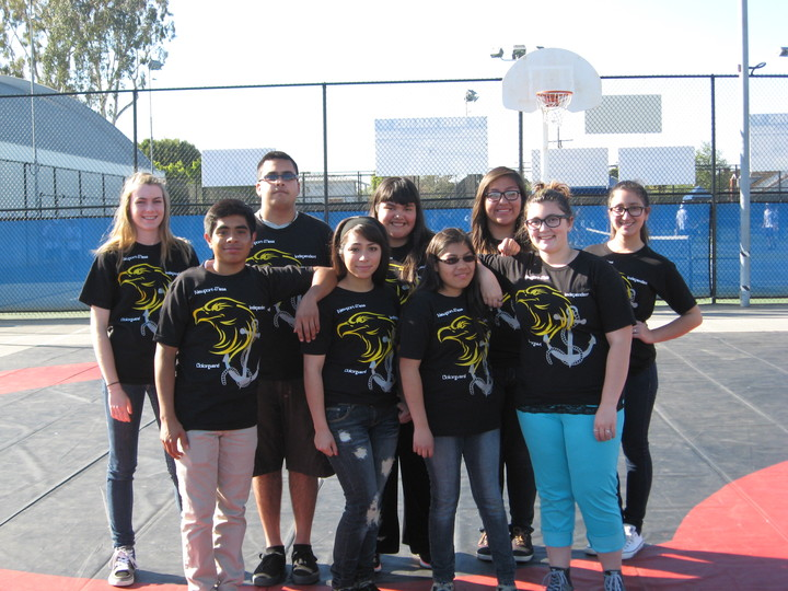 Newport Mesa Colorguard T-Shirt Photo
