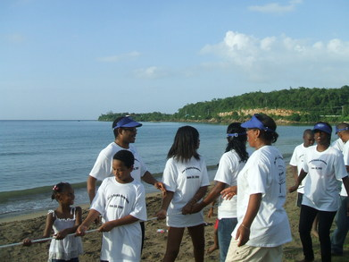Time In Paradise With The Family T-Shirt Photo