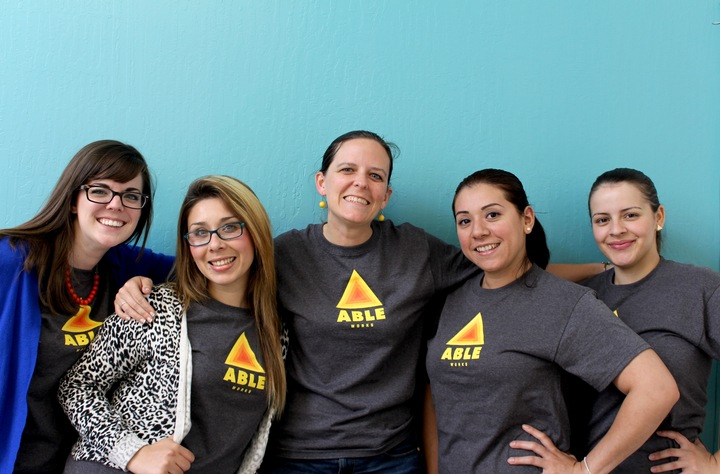 Ladies Sporting Our New Shirts! T-Shirt Photo