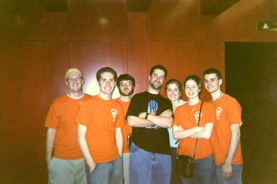 Eagle Nights Staff With Dustin Screech Diamond T-Shirt Photo