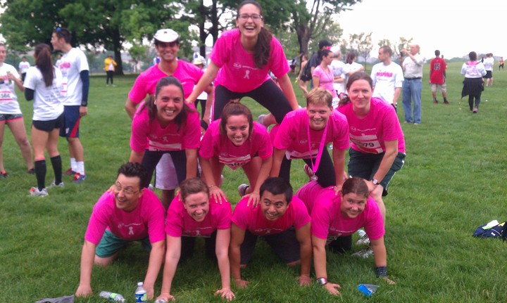 Dls Race For The Cure Team T-Shirt Photo