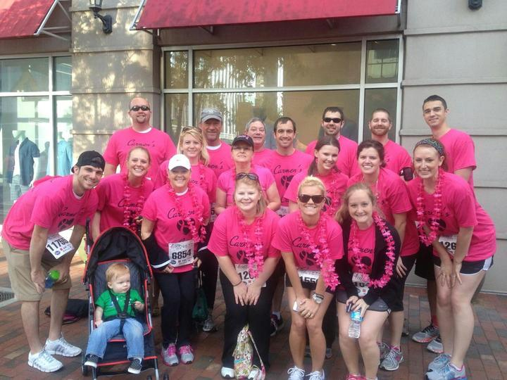 Carmen's Crew Susan G Komen 5 K Atlanta T-Shirt Photo