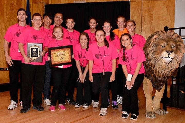 Csi Challenge 2012 2nd Place Winners!! T-Shirt Photo