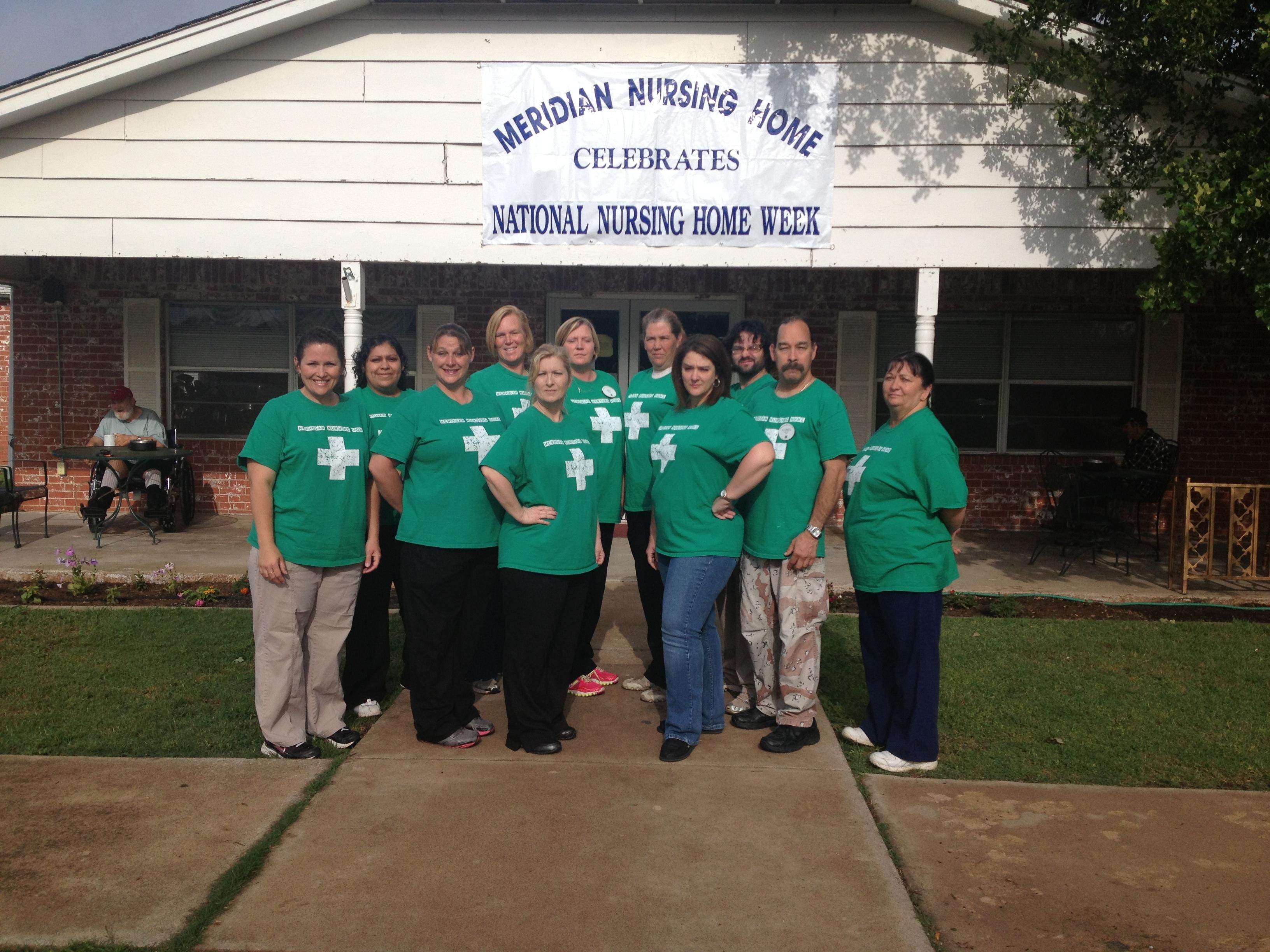 High Quality Nursing Home Week T Shirt Photo