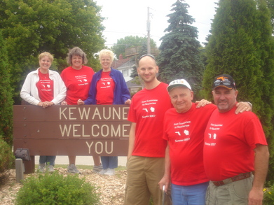 From Suwannee To Kewaunee   Summer 2007 T-Shirt Photo