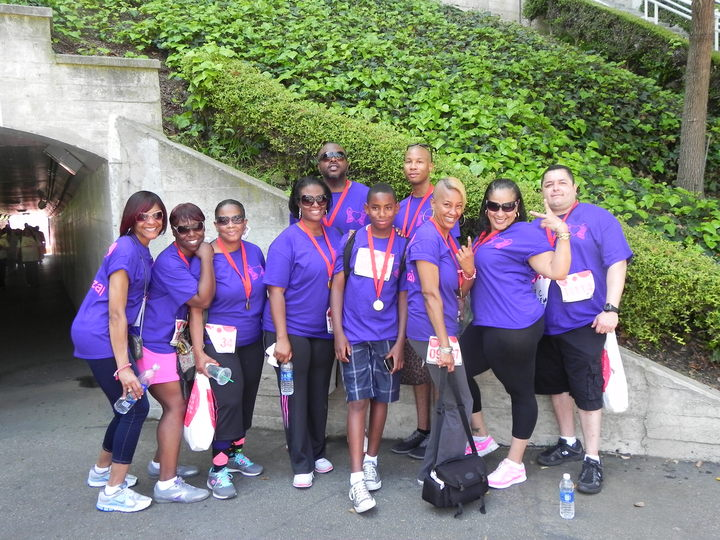 Revlon Walk 2013 T-Shirt Photo