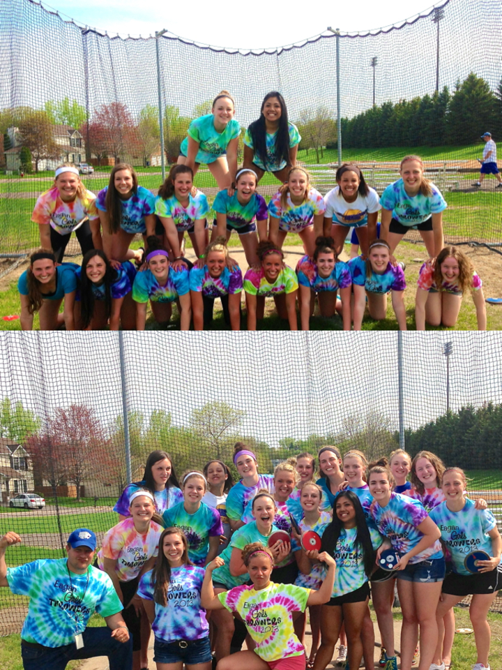 Eagan Girls Throwers T-Shirt Photo
