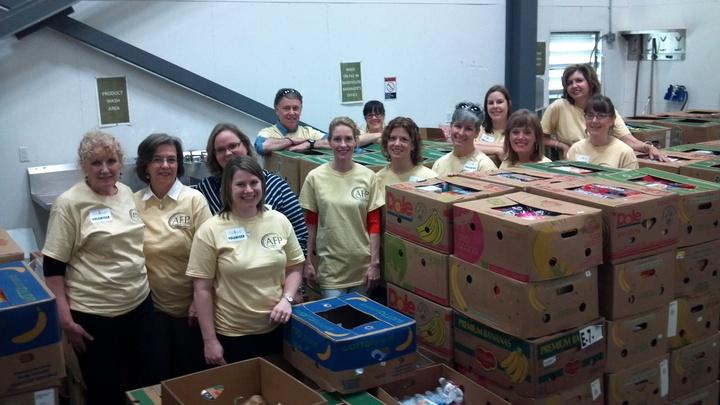 Giving Back At The Arkansas Foodbank T-Shirt Photo