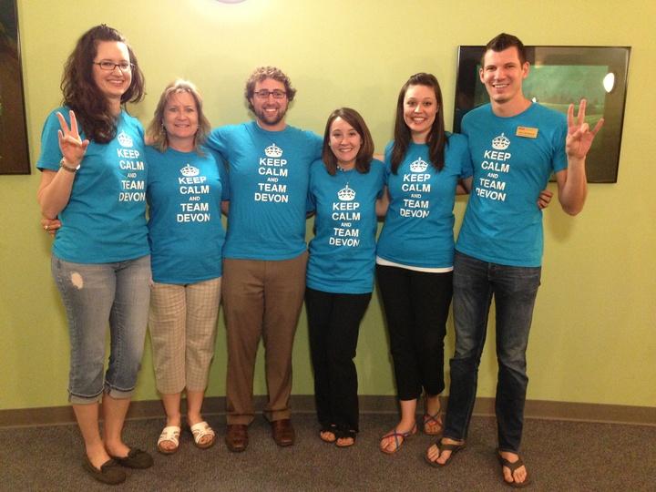 Keep Calm And Team Devon T-Shirt Photo