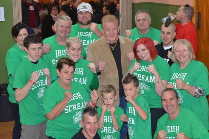 Kickboxing Team From Australia  T-Shirt Photo
