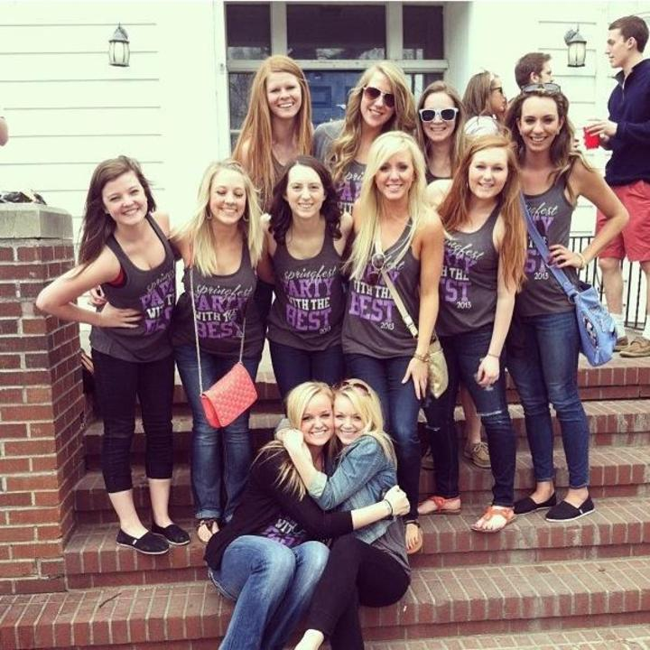 Delta Gamma's In North Dakota T-Shirt Photo