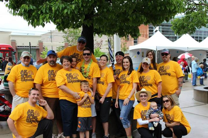 The Team In Slc For The Cf Walk T-Shirt Photo