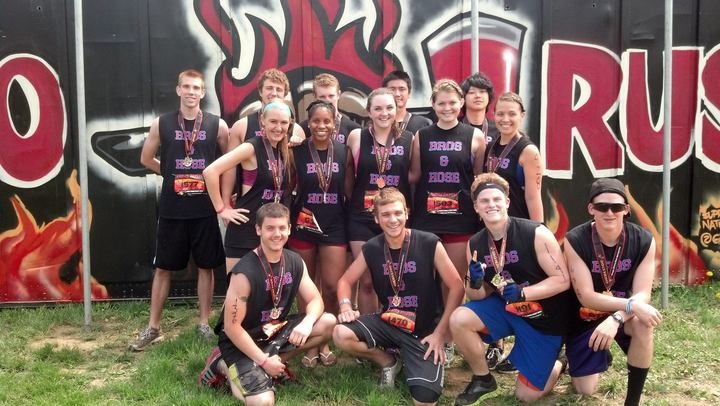 Bros & Hoes Take On Hero Rush For Fallen Firefighters! T-Shirt Photo