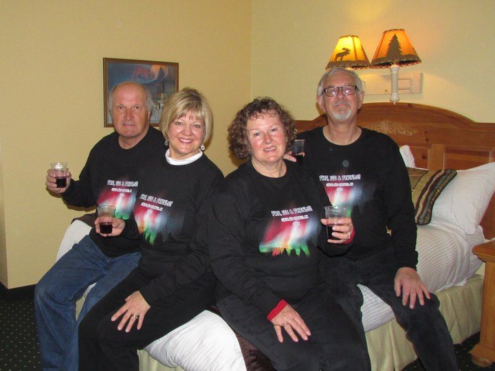 Fire, Ice And Friends T-Shirt Photo
