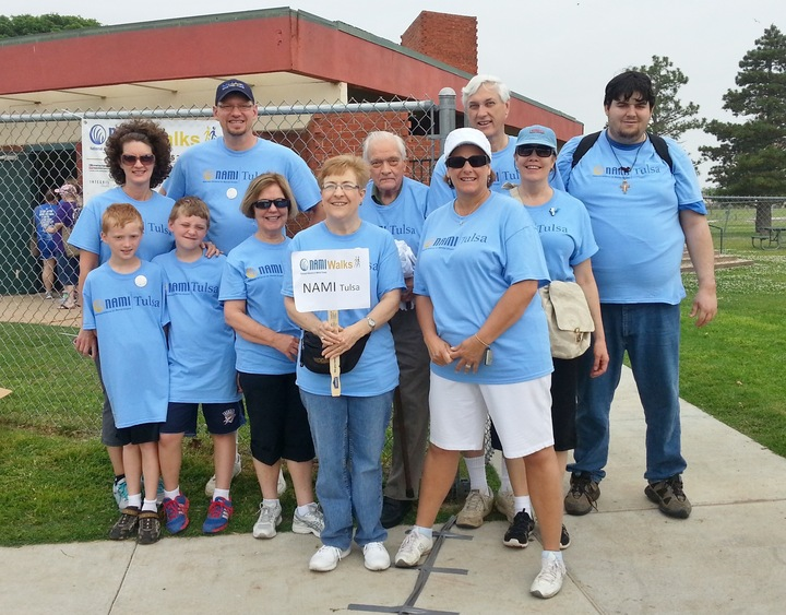 Nami Tulsa Walk Team T-Shirt Photo