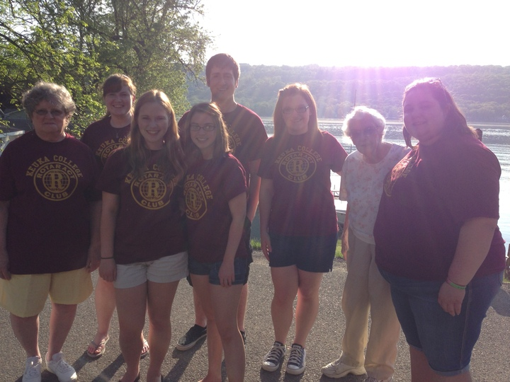 Keuka College Rotaract Executive Board 2013 2014 T-Shirt Photo