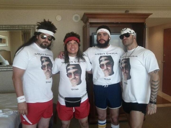 Robbie's Bachelor Team! T-Shirt Photo
