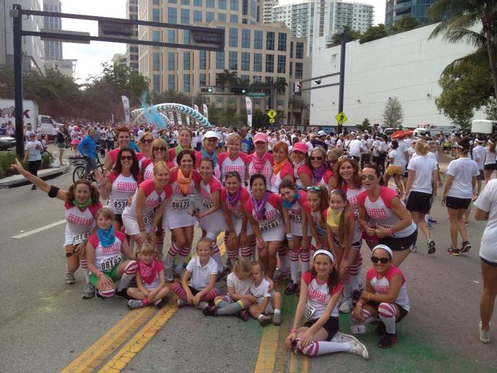 Pearl's Girls Rocking The Color Run!  T-Shirt Photo