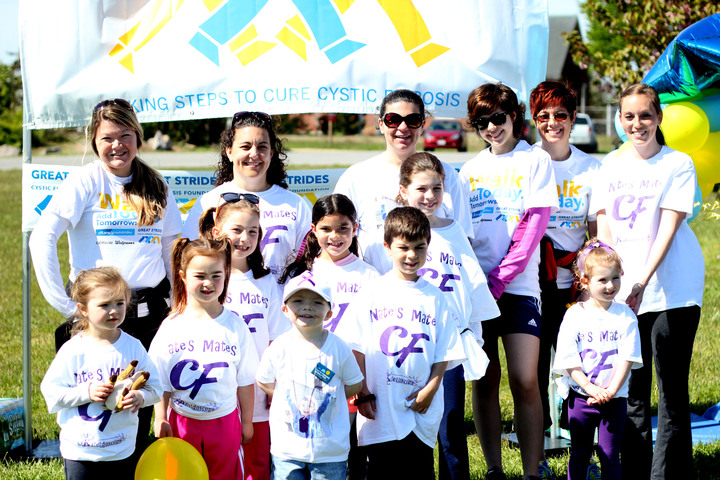 Great Strides Cystic Fibrosis Walk Bourne, Ma T-Shirt Photo