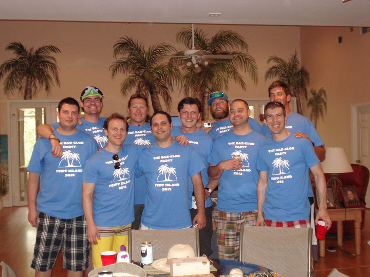 Little Brother's Bachelor Party T-Shirt Photo