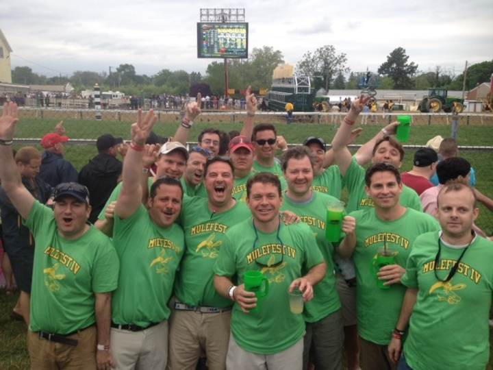 Mulefest Iv @ Preakness 2013 T-Shirt Photo