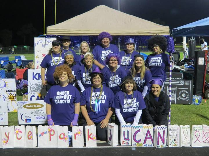 Relayers Are Gonna Knock Out Cancer! T-Shirt Photo