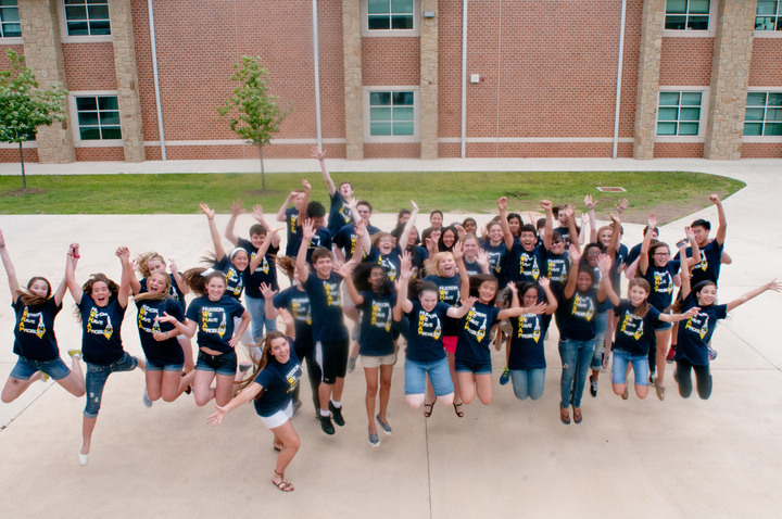 Jumping For Joy About Whap! T-Shirt Photo
