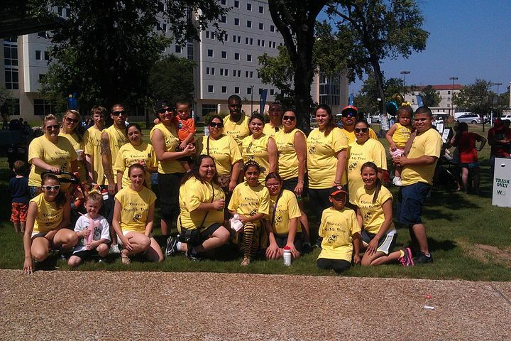 Great Strides Cystic Fibrosis Walk T-Shirt Photo