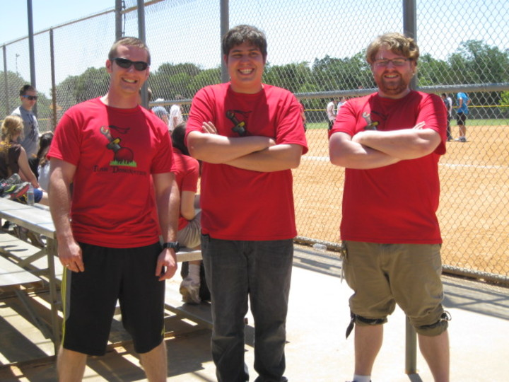 It Team Dominating Kickball T-Shirt Photo