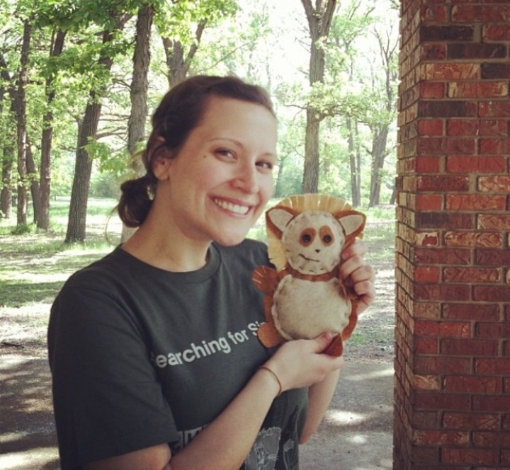 Urban Eco Co Founder And Simba Mascot T-Shirt Photo