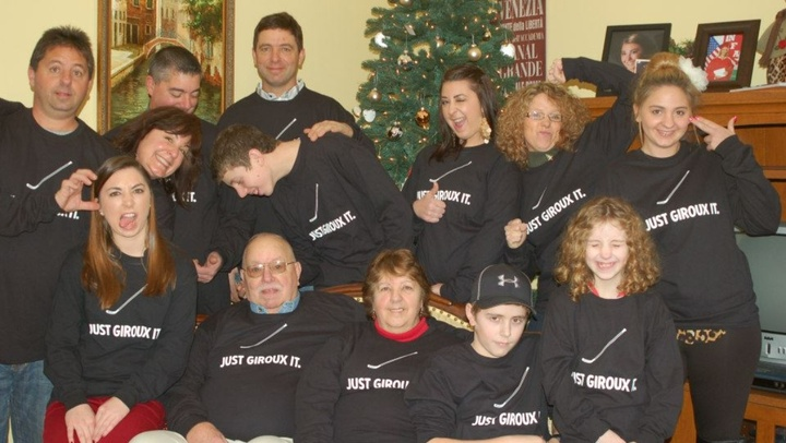 Giroux Christmas 2013 T-Shirt Photo