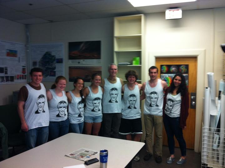 Professor Mustard In The Laboratory With His Bro Tank T-Shirt Photo