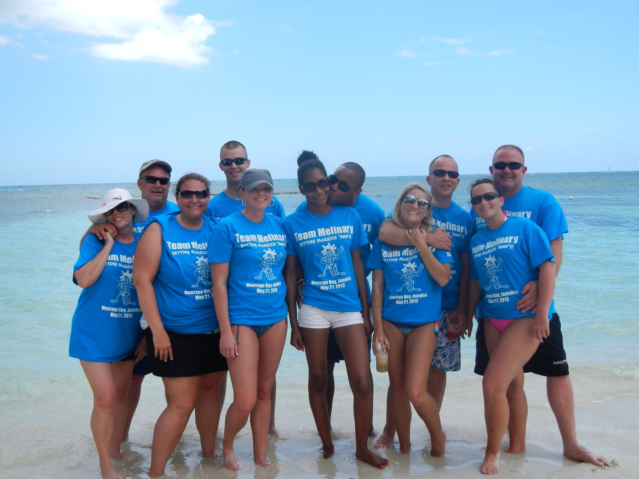 The Melinary Wedding In Jamaica T Shirt Photo