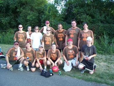 Foul Ballz Kickball Team, Minneapolis Mn T-Shirt Photo