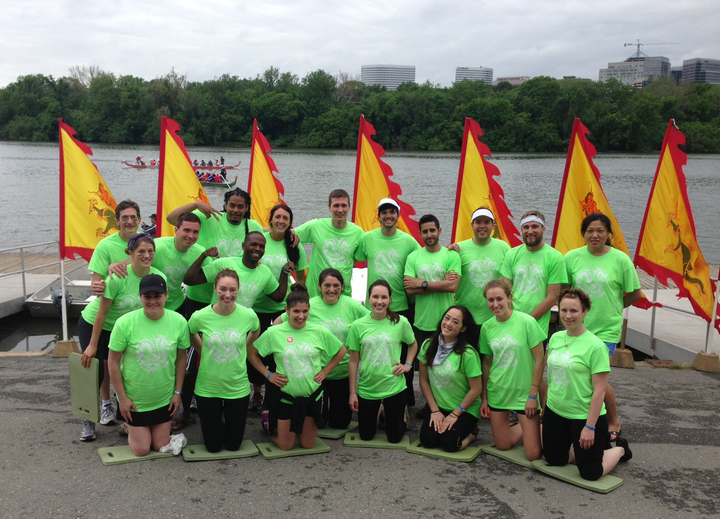 Dragon Boat Crew Clean Water Warriors T-Shirt Photo
