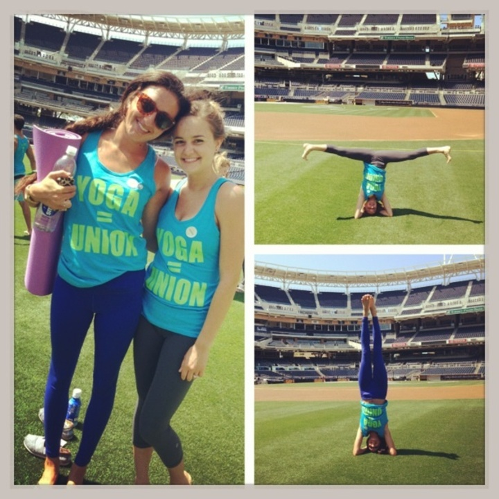 Yoga=Union T-Shirt Photo