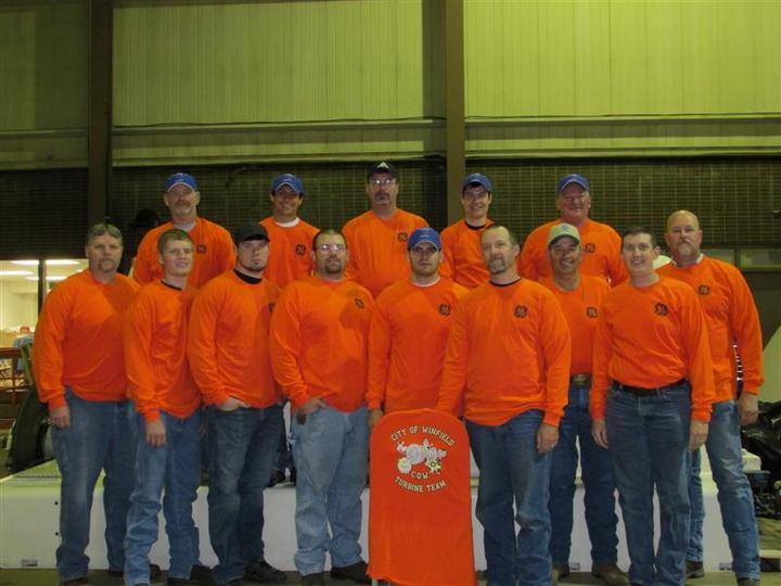"City Of Winfield ""Cow"" Turbine Team T-Shirt Photo"