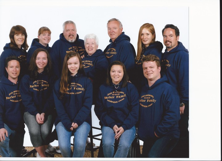 Barker Family Celebration Cruise Photo T-Shirt Photo