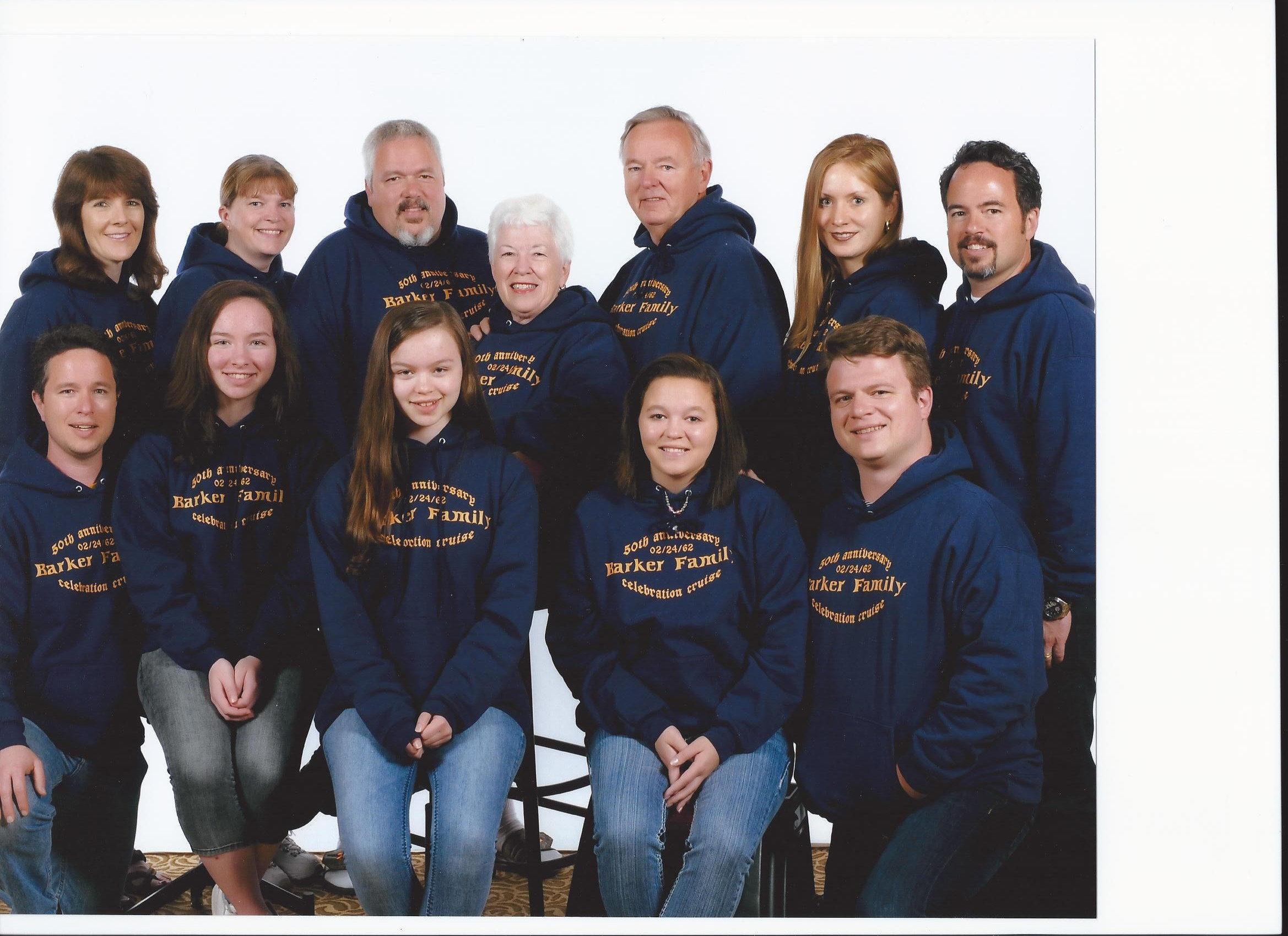 Custom T-Shirts for Barker Family Celebration Cruise Photo - Shirt ... 36f0b3b7cf13