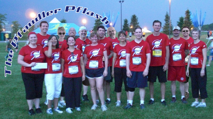 Pfaudler, Inc. Sporting Their Award Winning T Shirts! T-Shirt Photo