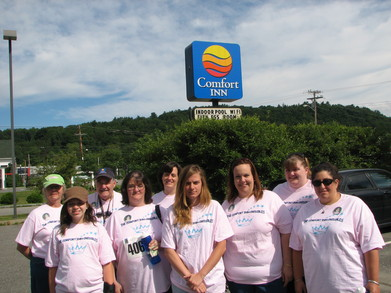 The Comfort Inn Credibles T-Shirt Photo