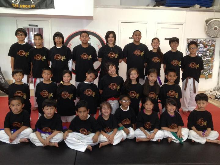 Dancel's Academy Of Tkd Bruce Lee Tribute Night Performance T-Shirt Photo