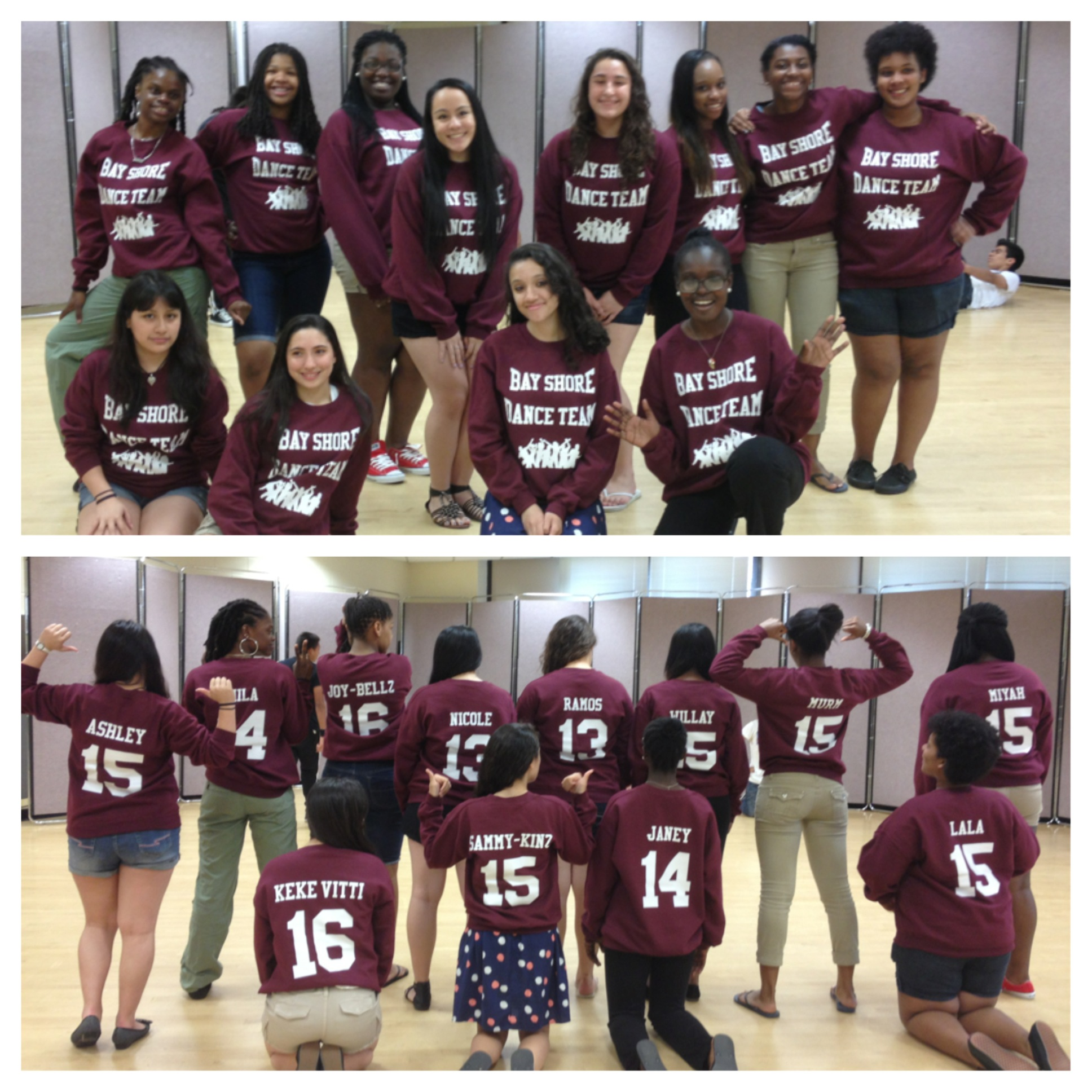 bay shore dance team rocks their new look d t shirt photo - Team T Shirt Design Ideas