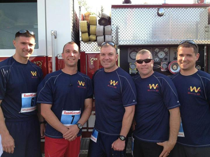Watertown Fire Department 10k Team 2013 T-Shirt Photo