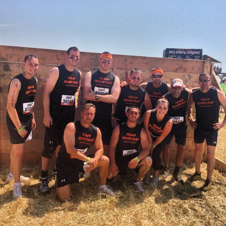 Team River Rat At Tough Mudder! T-Shirt Photo