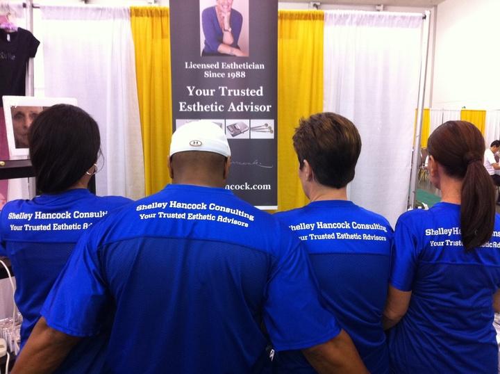 Hancock Esthetic Consulting Team T-Shirt Photo