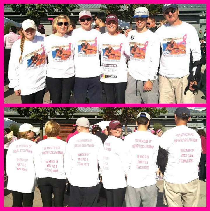 In Memory Of My Mother..Avon Walk For Breast Cancer: 2012 New York T-Shirt Photo