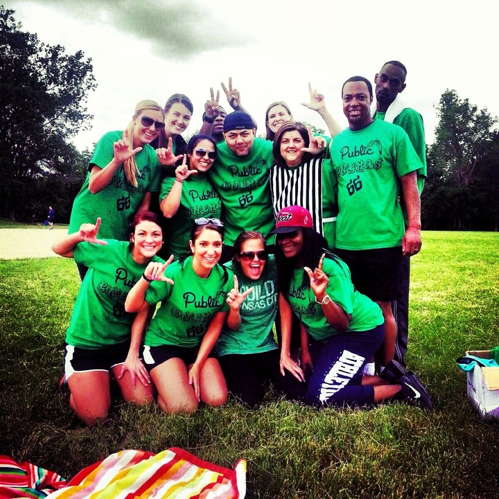 Unit 66 Kickball Tournament  T-Shirt Photo