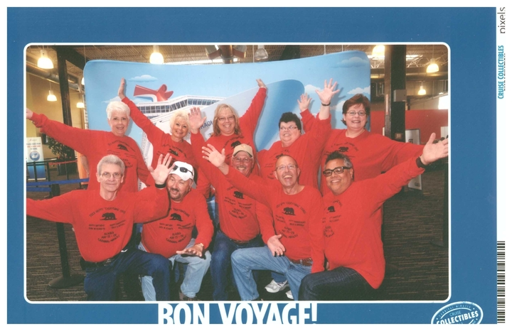 Carnival Miracle   Alaska 2013 T-Shirt Photo
