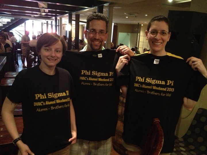 Phi Sigma Pi Dvac T-Shirt Photo